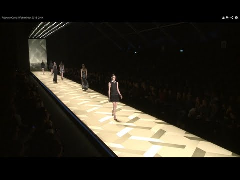 """ROBERTO CAVALLI"" Full Show HD Autumn Winter 2013 2014 Milan by Fashion Channel"