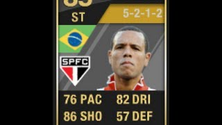 FIFA 12 SIF FABIANO 85 Player Review & In Game Stats Ultimate Team
