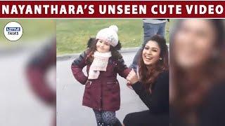 Nayanthara Cute Unseen Video - Viral Video   LittleTalks