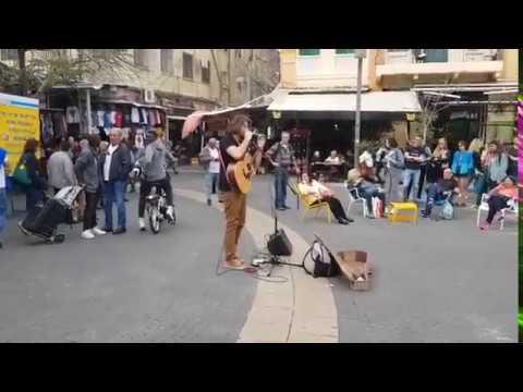 Carmel Market - Música na Rua!  (Caio Fábio ao vivo de Israel)