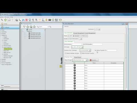 CCA Auto Attendant with Drop-through Number Option Tutorial
