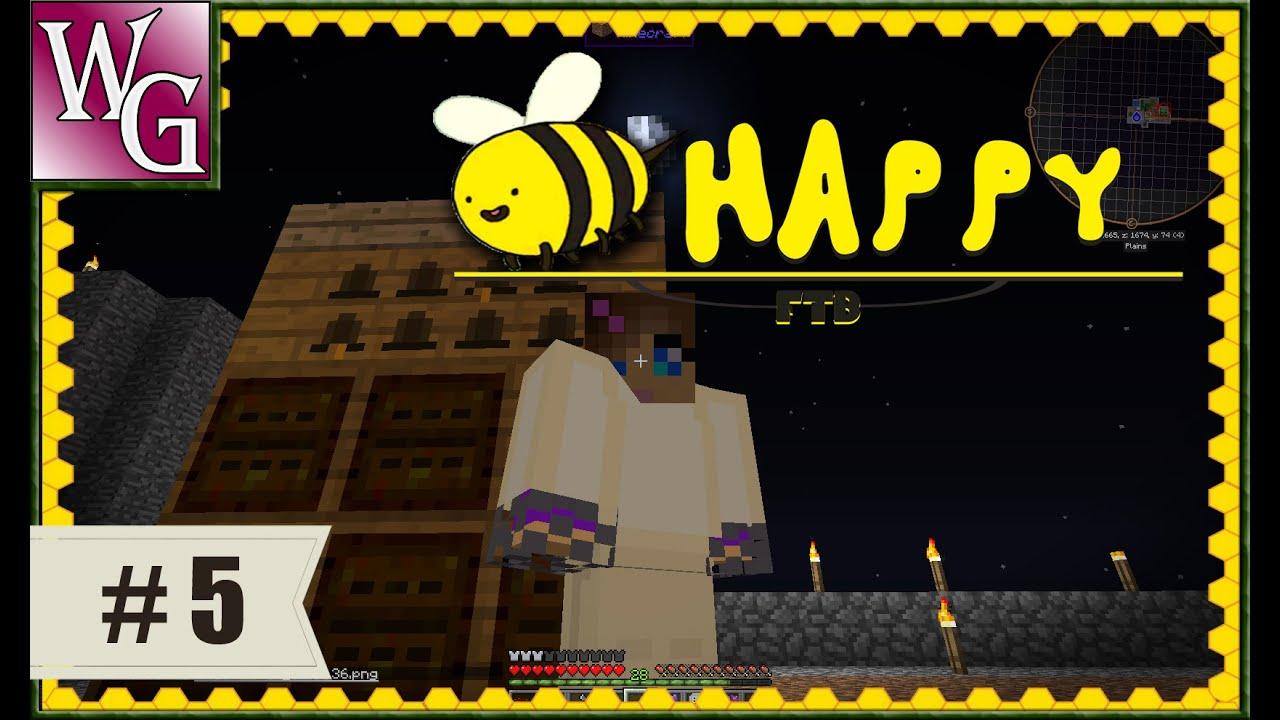 FTB Mod Pack Bee Happy - Alveary - большой улей #5 - Скачать бесплатно