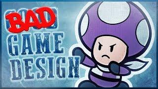 Bad Game Design - Super Paper Mario & Color Splash