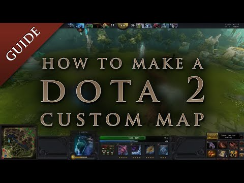 How to make a map in DOTA 2 with Steam Workshop mod tools