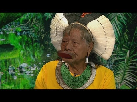 'It's all finished' - Tribal chief on deforestation of the Amazon rainforest