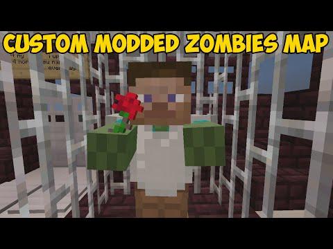 Minecraft Xbox 360/One: CUSTOM MODDED ZOMBIES map Download (TU23 Mod)