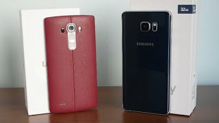 مقارنة | Samsung Galaxy Note 5 Vs LG G4