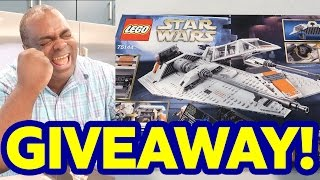 NEARLY 2000 PIECES?! 😵 INSANE LEGO STAR WARS GIVEAWAY!