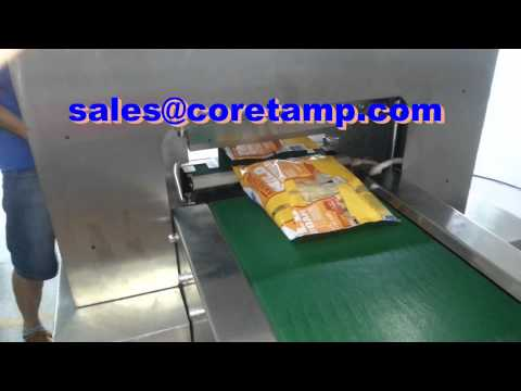 Arabic pita bread machine for packaging pita bread, pizza, wheat flour bread