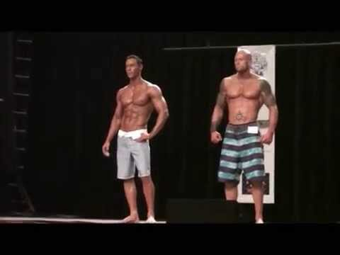 2012 NPC Rhode Island Men's Physique Overall Judges Decision - Anton Antipov vs. John Quinlan