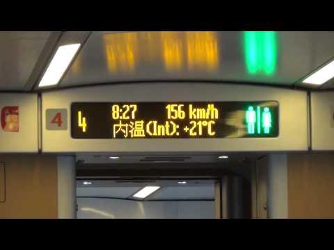 Скоростной поезд между ШЖ и ГЖ - Жизнь в Китае #40