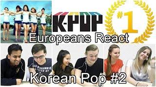 Download Lagu Europeans React To K POP #2 / 유러피안 케이팝 리액션 (K-Pop) Gratis STAFABAND