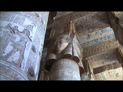 The Divine Feminine: Temple Of Hathor Egypt