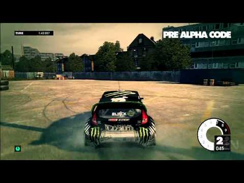 Dirt 3: Gymkhana Gameplay