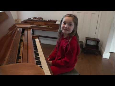 Nokia ringtone joke - composed by Alma Deutscher (7) Oct. 2012...