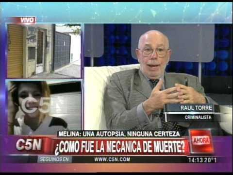 C5N - CASO MELINA ROMERO: SE ESPERAN INFORMES CLAVES DE LA AUTOPSIA