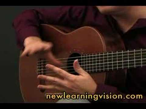 Flamenco Guitar Lesson - Rasgueado Studies