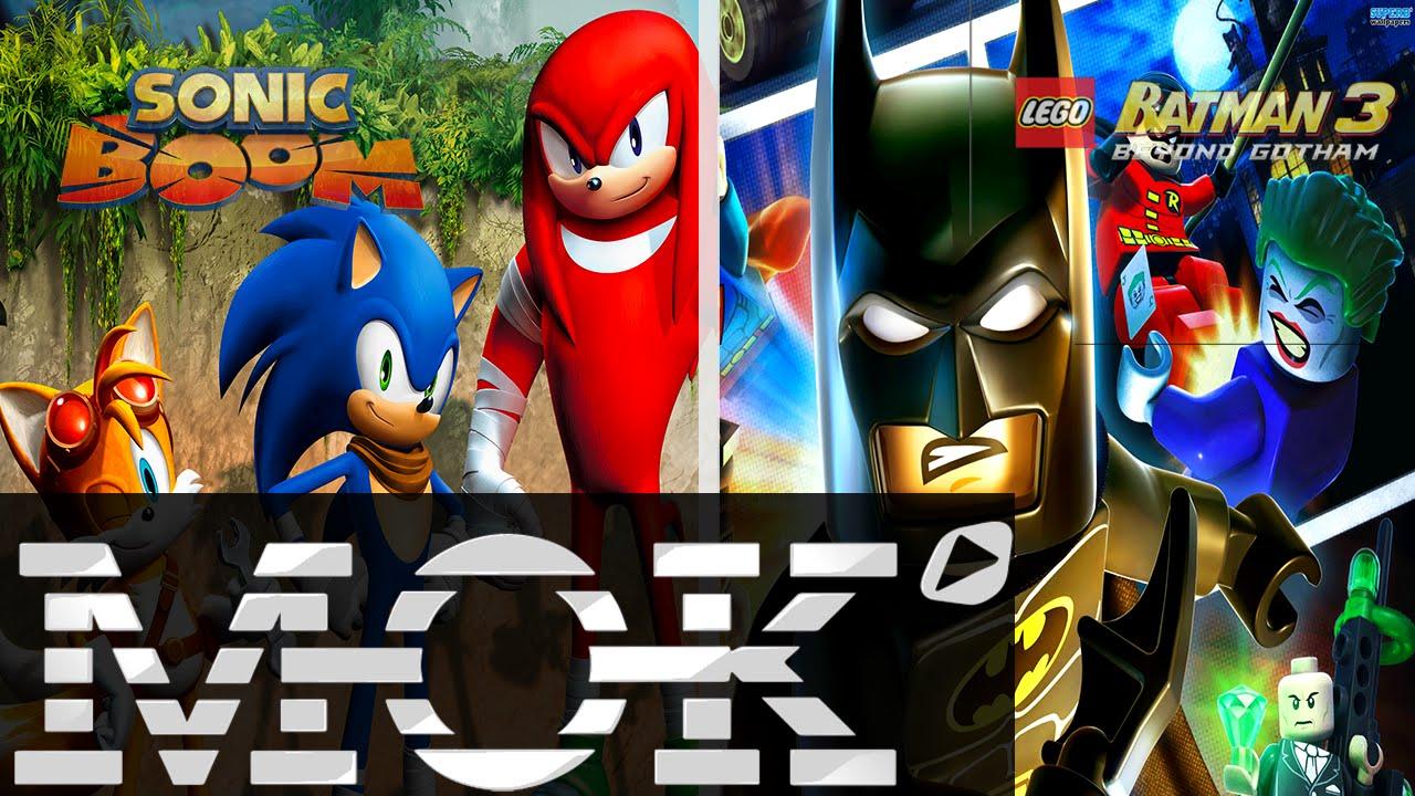 Mok shadow of mordor lego batman 3 sonic boom youtube - Lego sonic boom ...