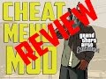 GTA SAN ANDREAS CHEAT MENU MOD REVIEW IN DEPTH mp3