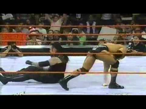 Undertaker Vs. Rock (casket Match) (raw-1999) video