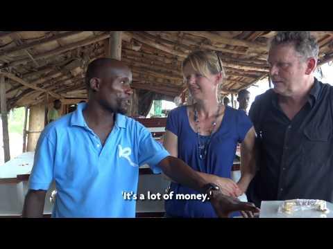 Ndirande, Malawi. Saulos Jali: Tour guide in the Slum.