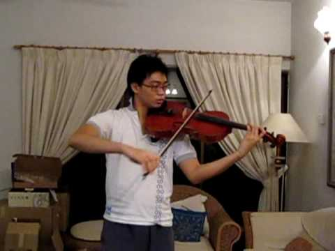 JC Bach - 1st movement of Viola Concerto in C minor (viola only)