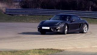 New Porsche Cayman – Advanced Engineering