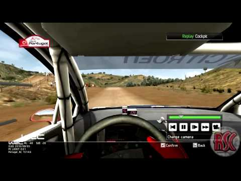 WRC 2010: First Stage in Career Mode - Citroen @ Portugal