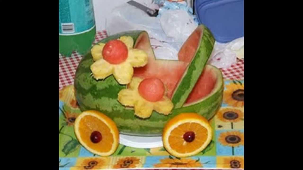 Поделка из фруктов и овощей своими руками