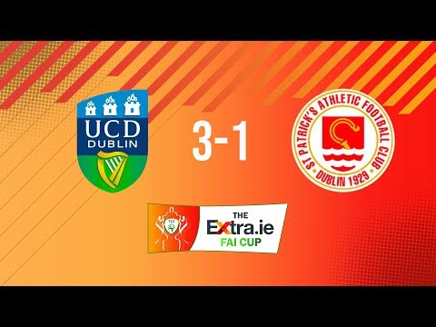 Extra.ie FAI Cup Second Round: UCD 3-1 St. Patrick's Athletic
