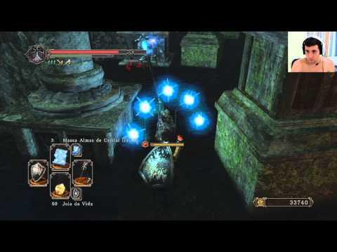 Dark Souls 2 (NG+) - Demon of Song, boss ate que foi fraquim