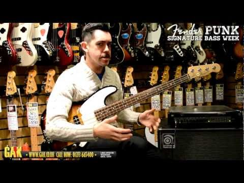 Fender - Mike Dirnt (Green Day) Precision Bass Demo at GAK!