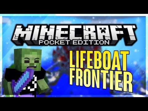 LIFEBOAT FRONTIER FACTIONS Server Beta - Minecraft PE 0.10.4