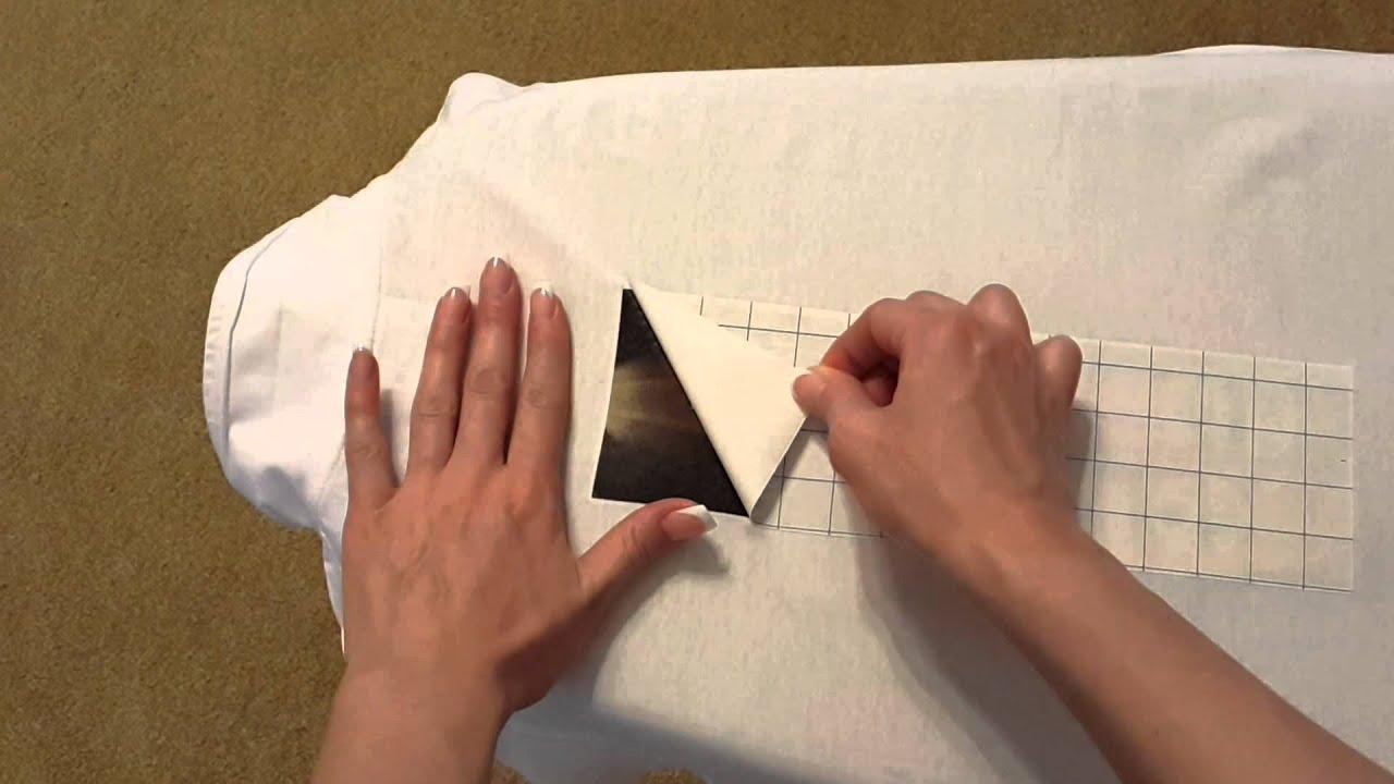 Трансферная бумага для ткани своими руками 18
