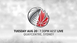 LIVE New Zealand vs Canada International Basketball Series 2019
