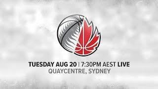 LIVE New Zealand vs Canada International Basketball Series 2019