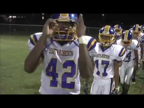 2014 South Robeson High School Football vs Trinity Christian