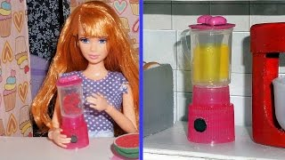 How to make a doll blender - miniature crafts DIY