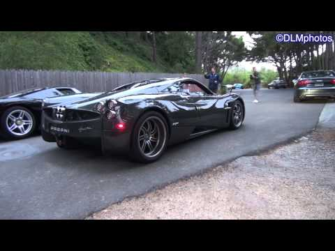 Pagani Huayra Private Viewing (plus Enzo, CGT, and Veyron SS!) - Monterey Auto Week 2013
