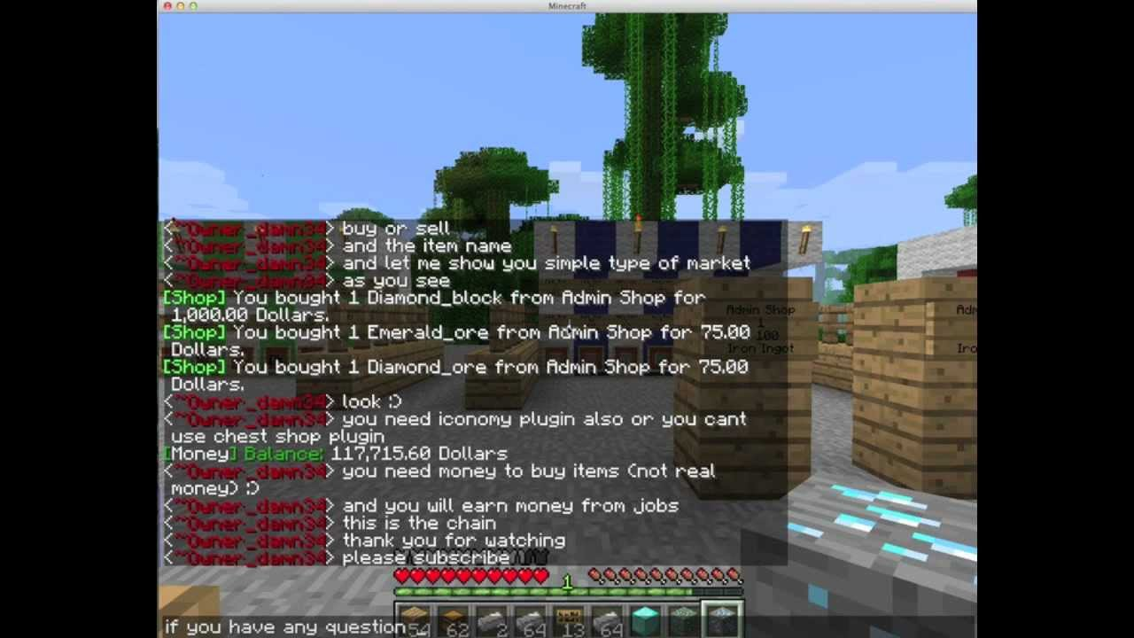 how to make a player admin in minecraft server