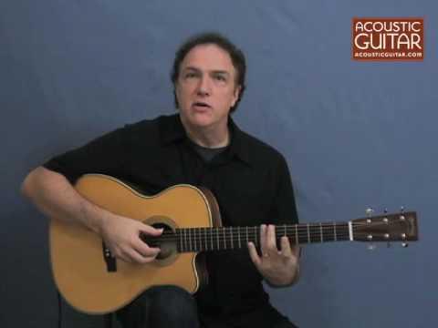 Acoustic Guitar Lesson - Michael Hedges-style Lesson