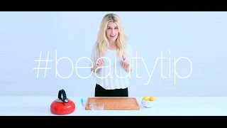 #BeautyTip Agua con limón en ayunas | The Beauty Effect