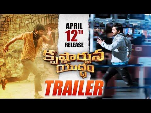 Krishnarjuna Yuddham Trailer - Nani, Anupama Parameswaran, Rukshar Dhillon | Merlapaka Gandhi | #KAY thumbnail