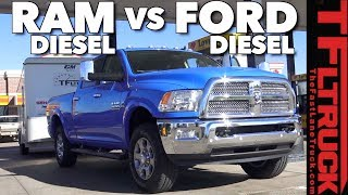 Is 2018 Ram 2500 HD Cummins More Efficient at Towing Than a Ford?