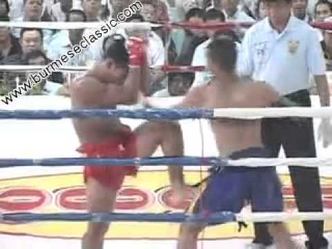Dawn Thae Chay (Red-Myanmar) VS Thai (Blue)