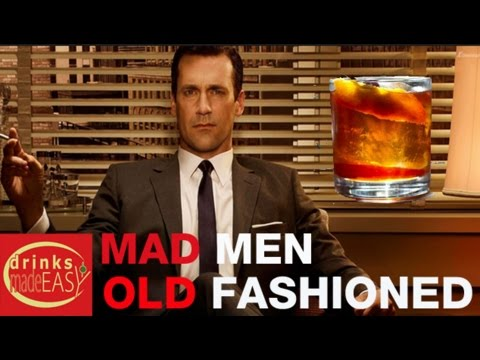 How To Make The Mad Men Don Draper Old Fashioned-Drinks Made Easy