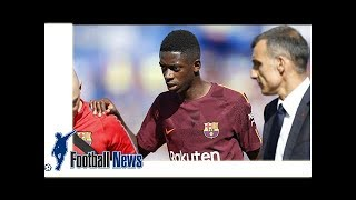 Barcelona's Dembele suffers another hamstring injury | by Football Latest News