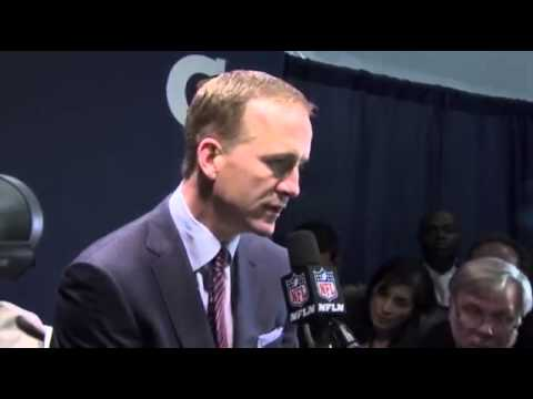 Peyton Manning SuperBowl 2014 INTERVIEW : Denver Broncos Lost to Seattle Seahawks