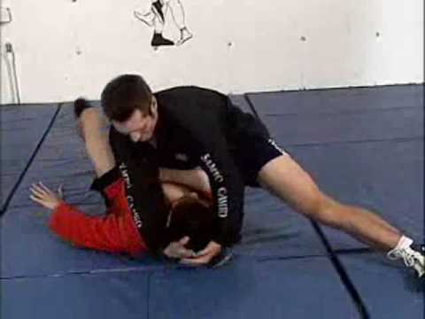 SAMBO choking techniques Image 1