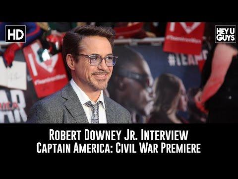 Robert Downey Jr.  Interview - Captain America: Civil War Premiere